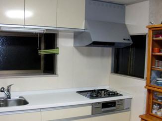 キッチンリフォーム 短期間で綺麗なキッチンへリフォーム
